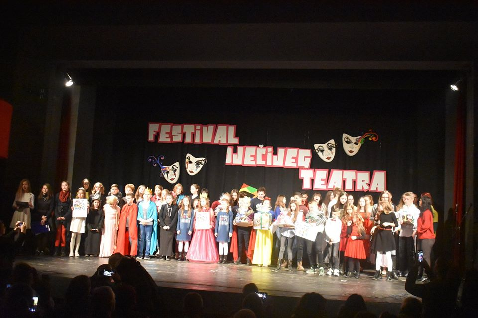 Održan 7.Festival dječijeg teatra