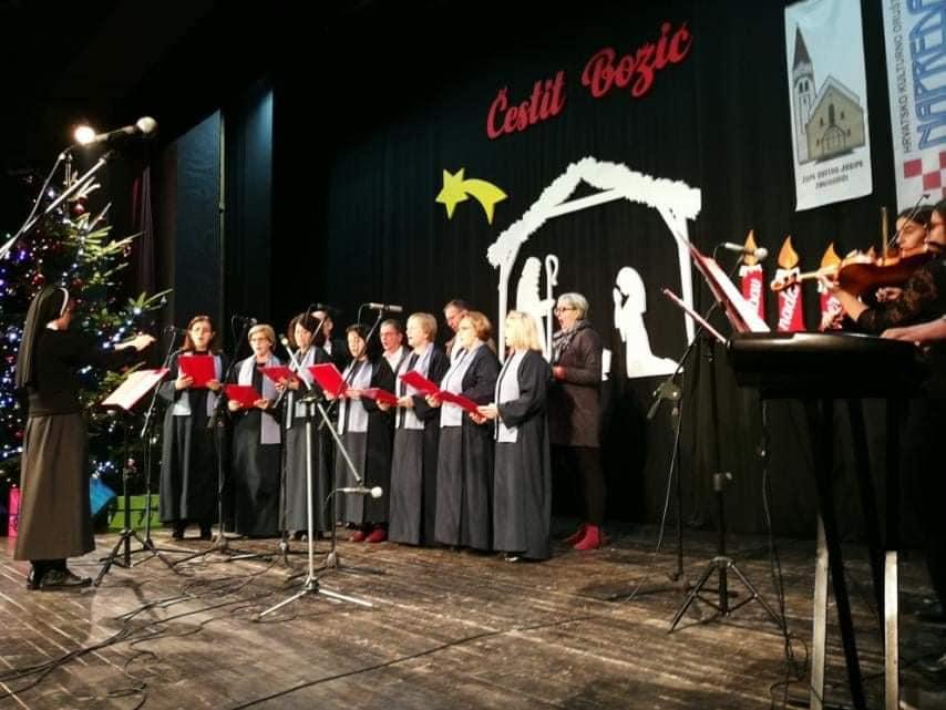 Božićni koncert u Velikoj sali Centra za kulturu