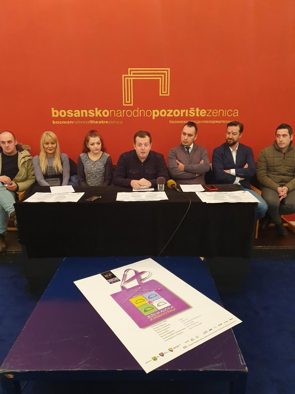 """Održana press konferencija povodom premijere predstave """"Ježeva kućica"""""""
