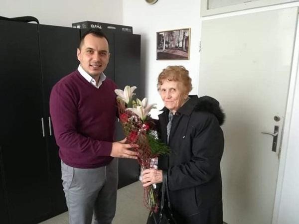 Jedna od prvih uposlenica Centra za kulturu posjetila našu ustanovu.