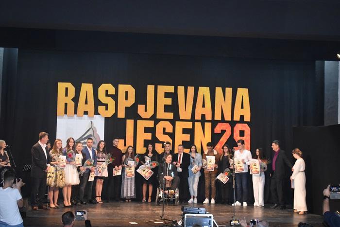 """Završen 29.po redu Festival zabavne muzike """"Raspjevana jesen"""""""