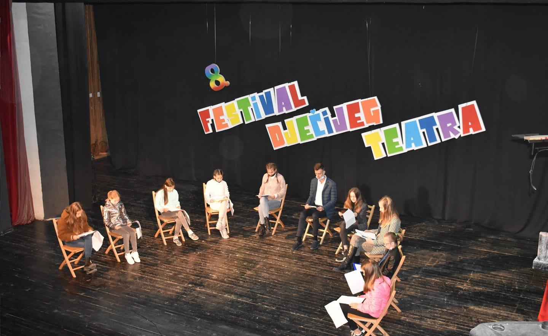 Završen 8.Festival dječijeg teatra Zavidovići 2020.(online)