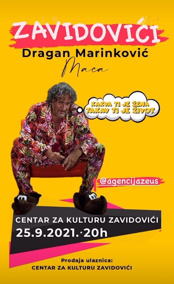 """""""Kakva ti je žena, takav ti je život"""" predstava Dragana Marinkovića u Centra za kulturu"""